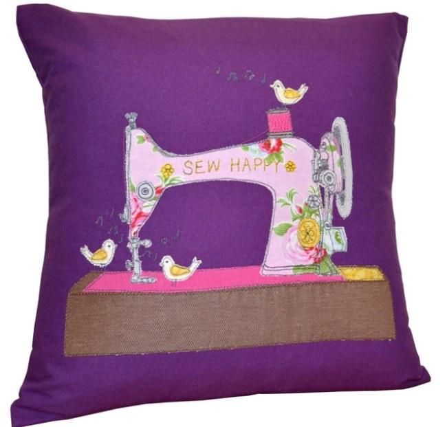 Sew Happy Cushion 1 -1