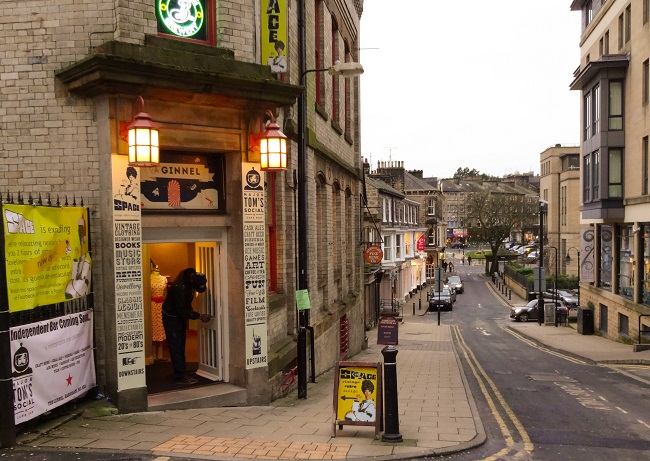 Major Tom's Social can be found up the stairs at Space, the fab vintage and retro emporium at The Ginnel off Parliament Street in Harrogate.
