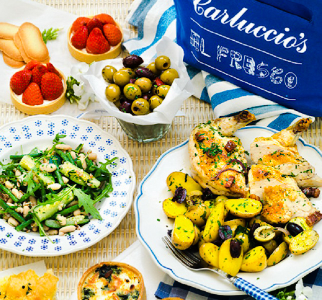 The classic Carluccio's picnic hamper.