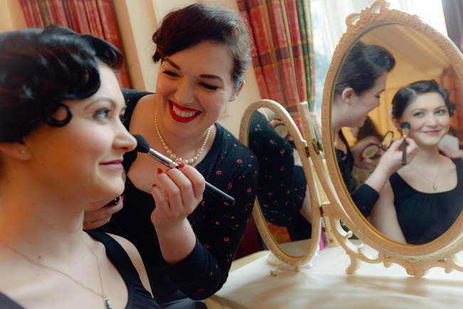 There will be make-up artist on hand to demonstrate retro-style looks.