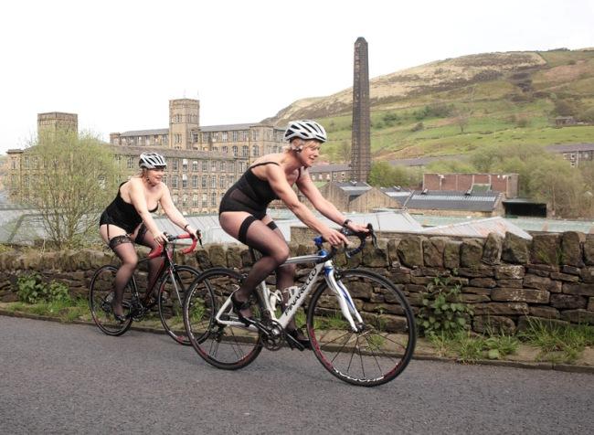 Liz and Elaine in Marsden