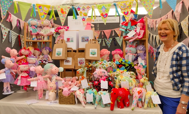 Ellie Mae's Louise Alison Townley and her wonderful sewn and to-sew designs