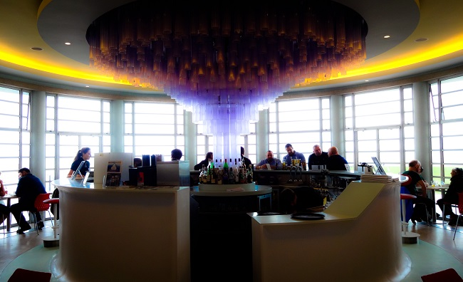 The bar in the Rotunda.