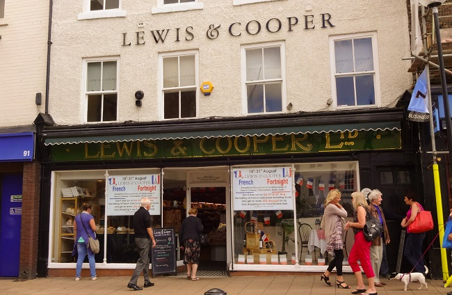 Lewis & Cooper in Northallerton - the business was founded in 1899.