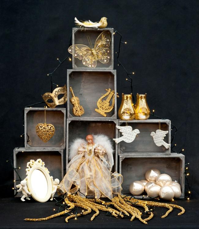 A Lesley Garrett-inspired Christmas scene