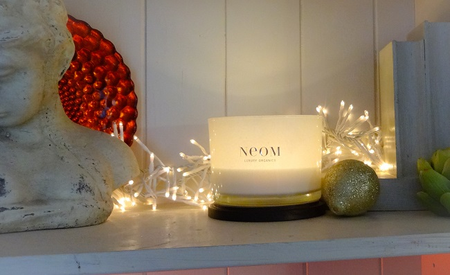 A three wick Neom candle costs £45 from www.neomorganics.com.