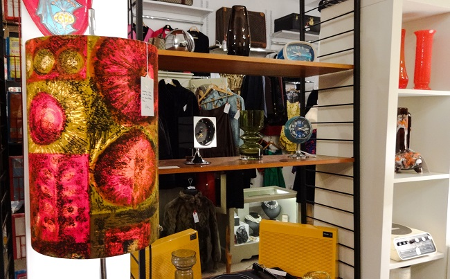 Space at The Ginnel off Parliament Street in Harrogate has lots of lovely vintage and retro gifts. from glassware to old record players - and they look as good today as they did when they were first made.