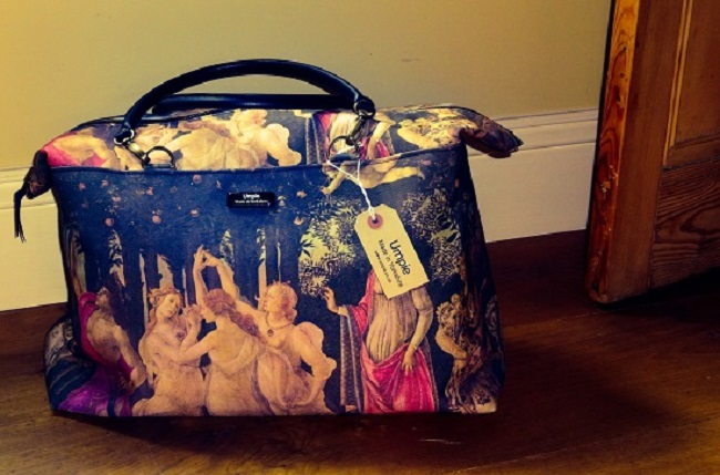 Fancy a weekend away with this amazing Botticelli and leather bag, £149, from Umpie.