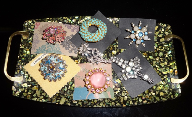 Some of my vintage brooches