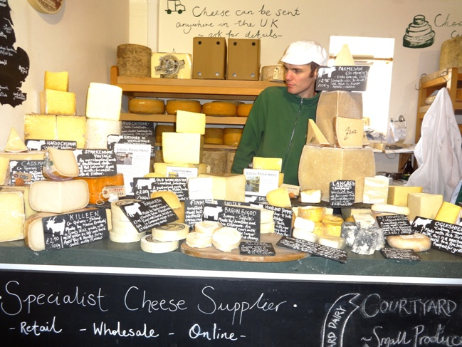 Say Cheese! The Old Dairy is a must for cheese lovers