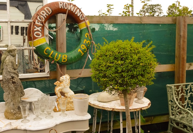 Check out Crimple Hall Antiques Centre at Pannal near Harrogate for garden ornaments ... and more.