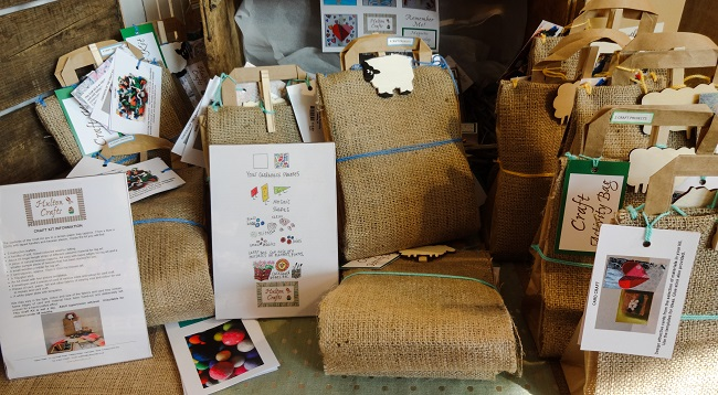 Craft kits from Hulton Crafts, based at Pateley Bridge.