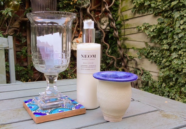 Neom Organic's Lavender, Jasmine & Brazilian Rosewood Body & Hand Lotion, from the Real Luxury collection. It costs £20.