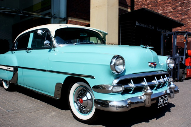 There will be 66 classic cars at the event