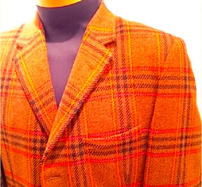 A Daks vintage tweed jacket from the 1960s.