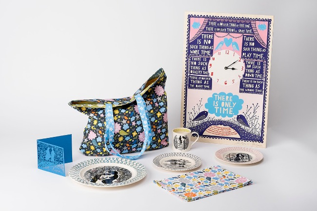 Some of the Rob Ryan products on sale at the YSP