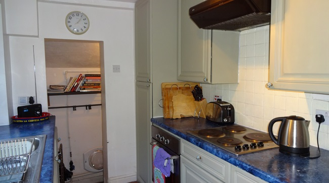 The kitchen before was old and tired and the utility not really fit for purpose.