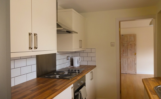 Completely new kitchen with units from Magnet - a special mention for my paint rubbed and oils doors as, frankly, I don't think they have received the recognition they deserve as yet.