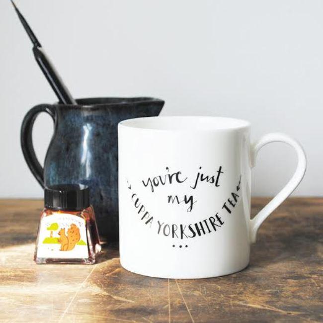 Plewsy's patriotic mug, £12.95