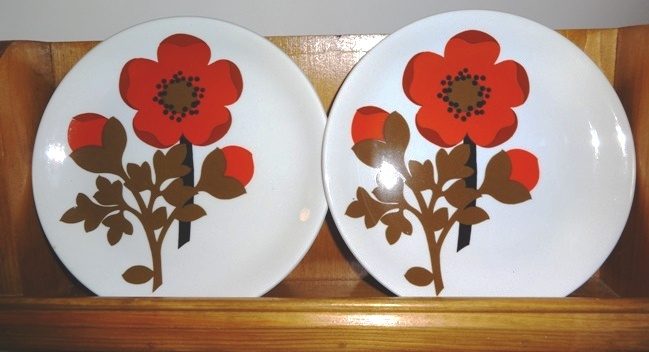 Marimekko style crockery