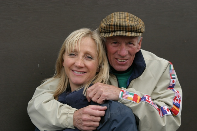 Match made in racing heaven: Trainer Ann Duffield and husband George, a legendary jockey