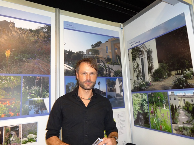 Harrogate-based garden designer Marco Schrang