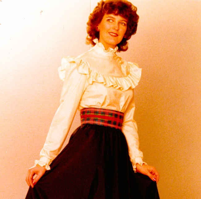 The 1981 blouse that inspired the Harry - very New Romantic and Princess Diana.