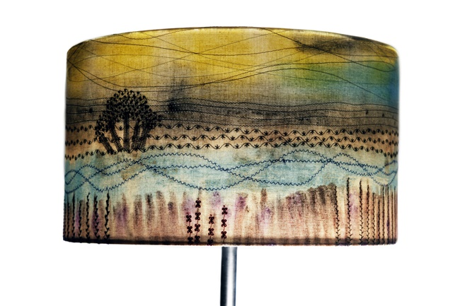 Lampshade by Angela Anning