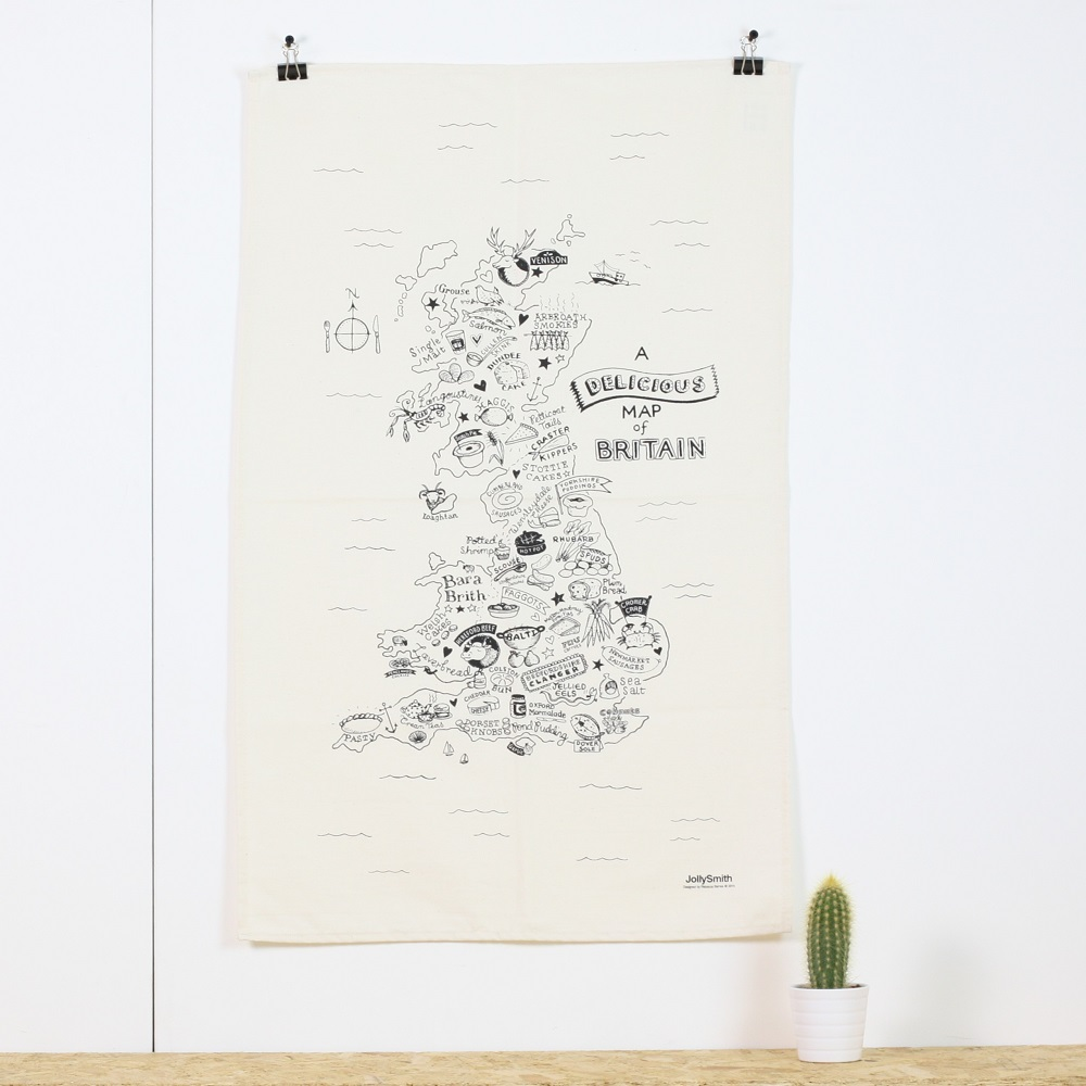 A Delicious Map of Britain