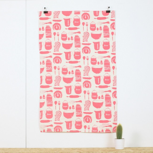 Utensils tea towel £9.50