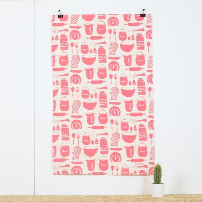 Utensils tea towel £9.50