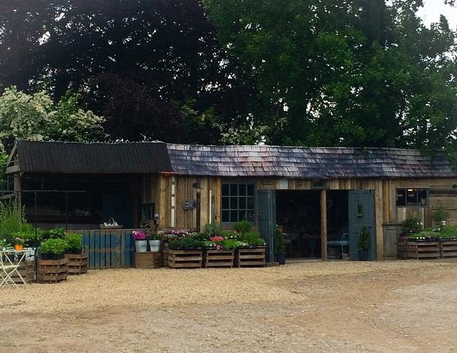 The Potting Shed is near Harewood Bridge.
