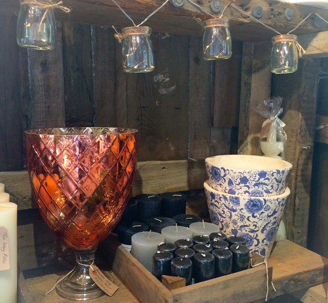 As for that vase, I just have to think where I can put it. The Potting Shed is full of treasures.