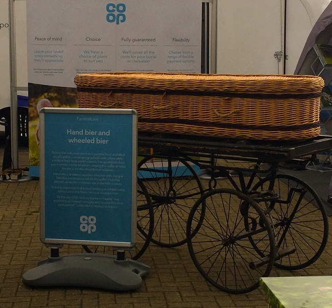 Surely there is another use for this coffin, perhaps a bedding box?