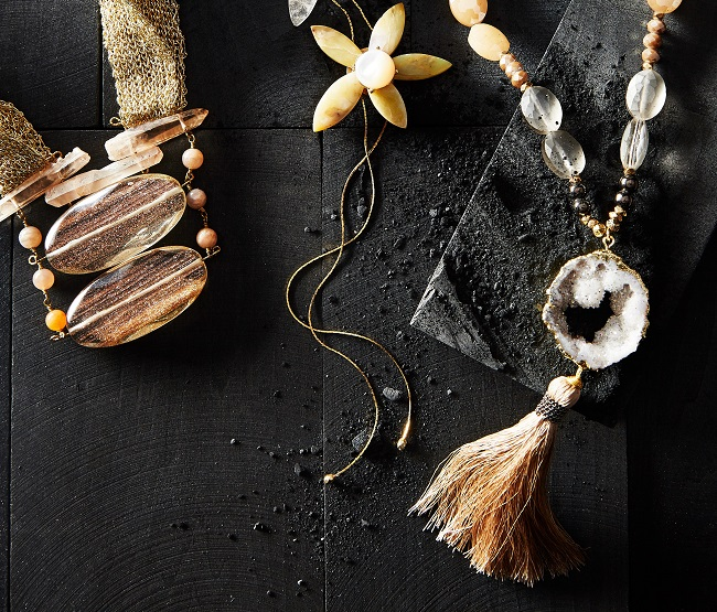 Beautiful jewellery pieces at Anthropologie.