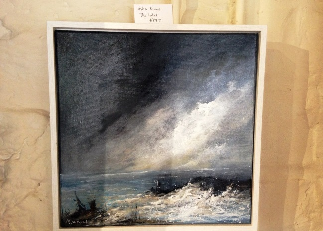 A truly beautiful seascape by Yorkshire artist Ailsa Read, who tipped me off about this brilliant little shop