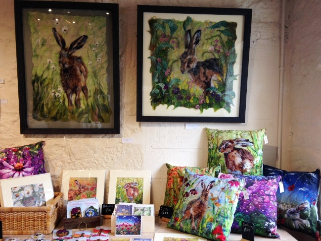 I love hares so this range by Marmalade Rose appealed. Cushions are £55