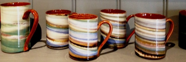 These handmade mugs by Wold Pottery look and feel fantastic and they are a bargain at £10 each