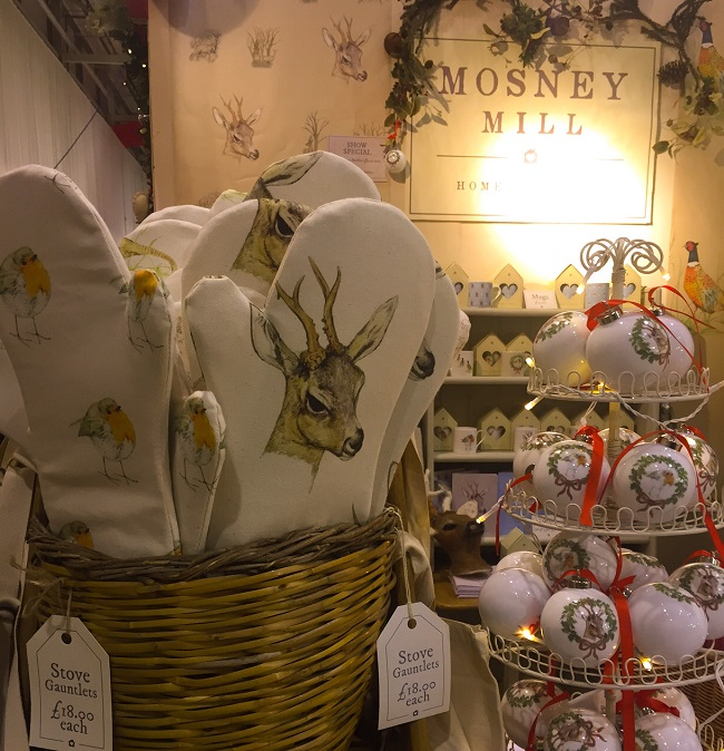 Lovely reindeer designs from Mosney Mill.