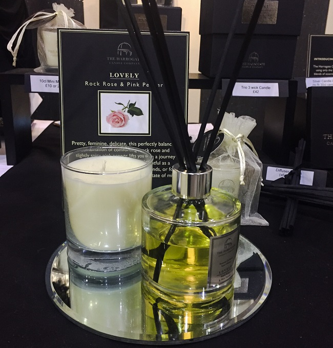 The Harrogate Candle Company was there too - gorgeous aroma, classy packaging.