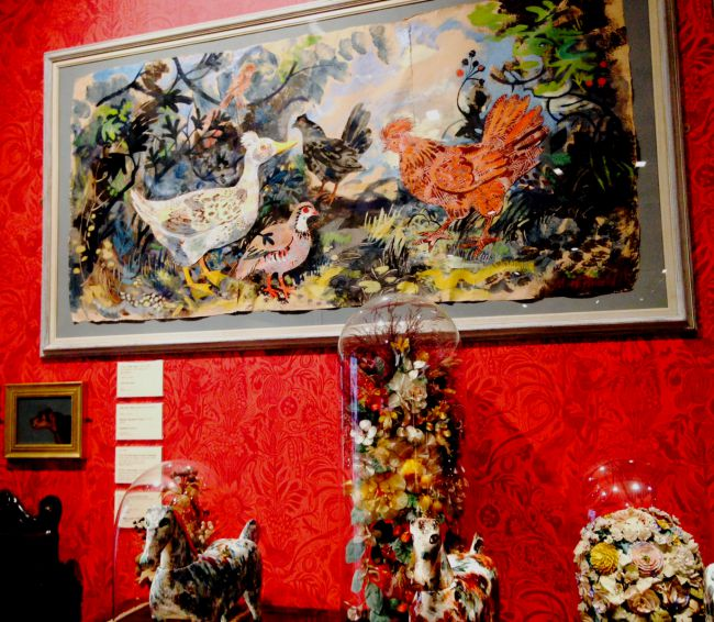 One of Mark Hearld's own pictures.