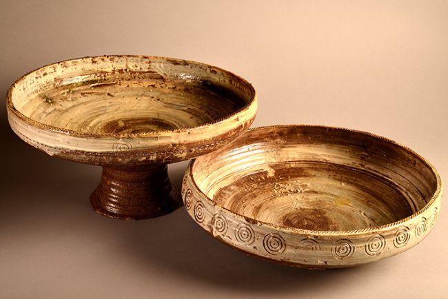 Matthew Wilcock's pottery.