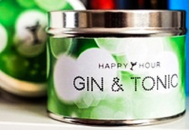 Gin & Tonic tin candle, £6.50, by Pintail Candles, available at the amazing Sophie Likes shop on Beulah Street in Harrogate and on Sophielikes.com